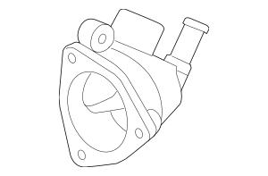 Discount Genuine OEM 2002-2006 Honda Case, Thermostat