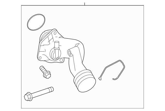 2011-2019 Mercedes-Benz Engine Coolant Thermostat Kit 278