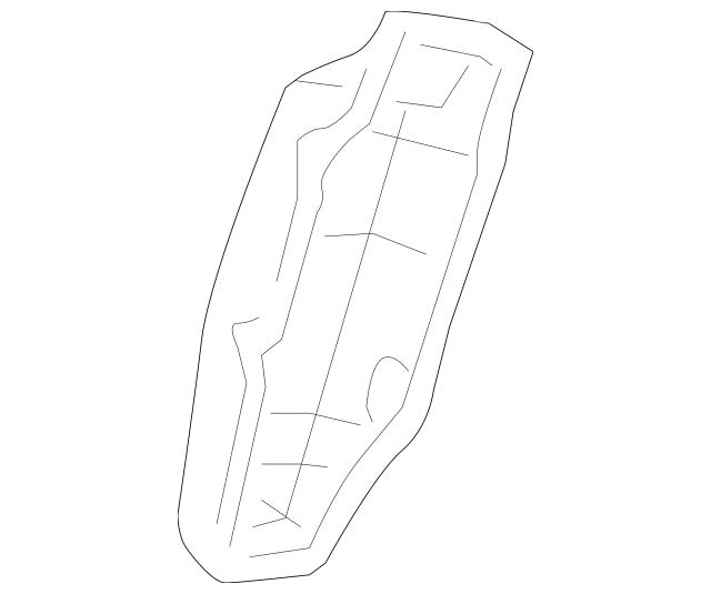 2007-2009 Acura Cover, Lumbar Motor 81529-STK-A01