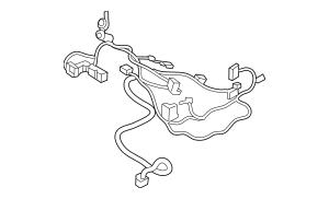 Volkswagen Control Module Harness (5NN-971-391-F