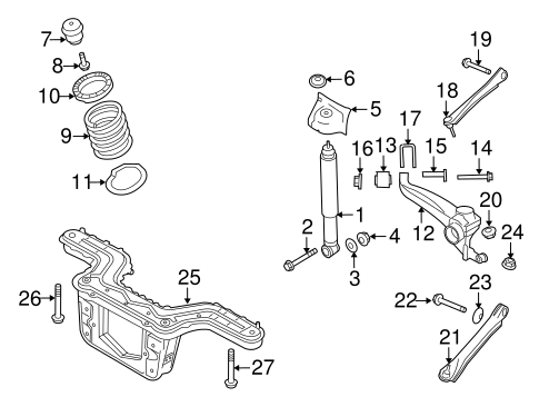 Water Pump Location On 2010 Ford Fusion 2000 Ford Taurus