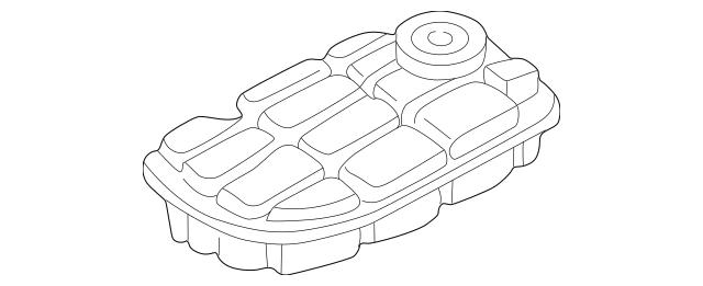 2000-2004 Chevrolet Corvette Reservoir Tank 10430189