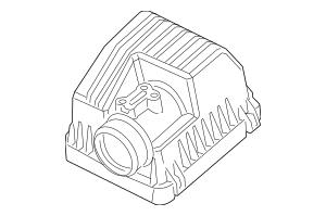 2012-2015 Honda CIVIC HYBRID SEDAN Cover, Air Cleaner