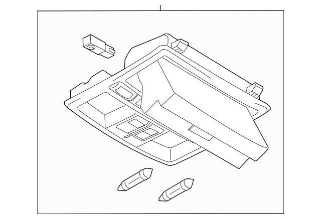 2010-2015 Mazda CX-9 Overhead Console TD76-69-970C-75