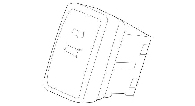 Genuine 2014-2016 Honda ODYSSEY 5-DOOR Switch Assembly