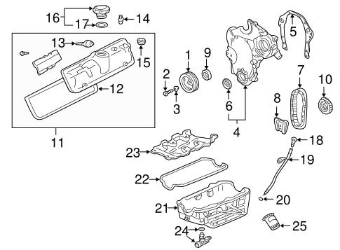 OEM 2004 Pontiac Aztek Emission System Parts