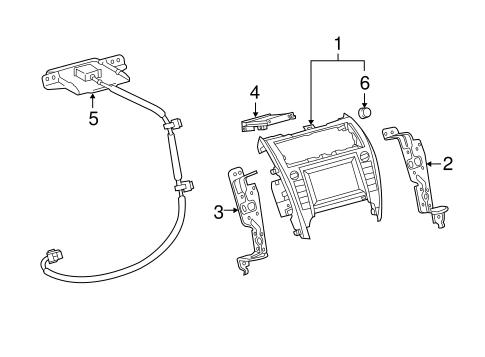 Genuine OEM Navigation System Parts for 2014 Toyota Camry