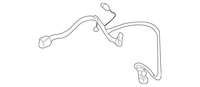 Genuine OEM Wire Harness Part# 1K552-61R12A Fits 2002-2005