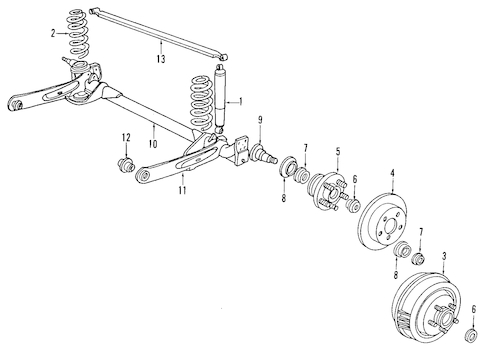 Service manual [Rear Diff Axle Removal 1993 Dodge Dynasty