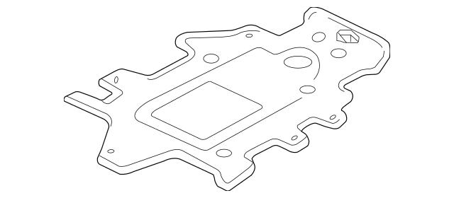 2004-2005 Pontiac Grand Prix Mounting Gasket 12574474