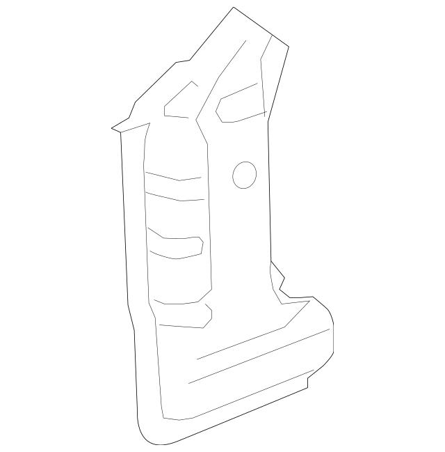 2010-2015 Chevrolet Camaro Hinge Pillar Reinforced