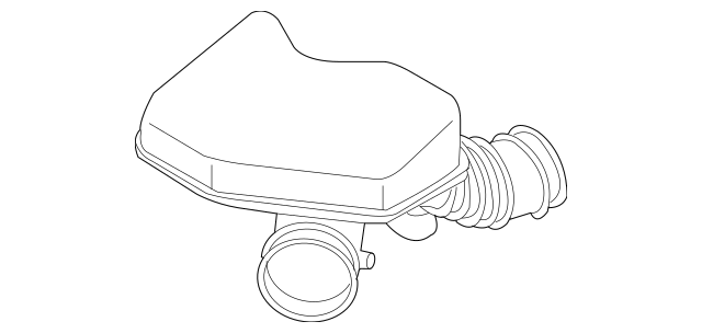 2007-2015 Mazda CX-9 Air Hose CY01-13-220B