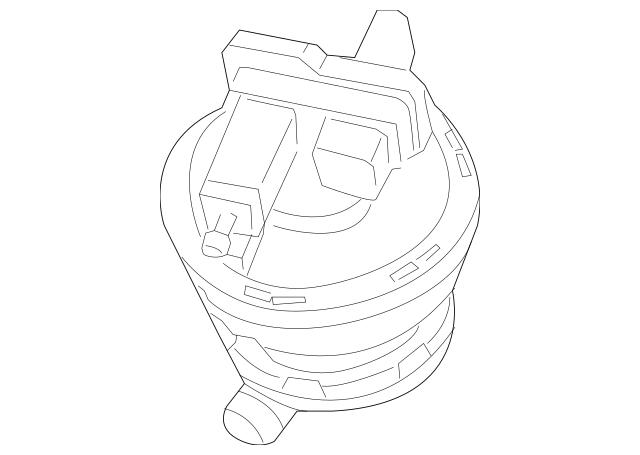 2003-2006 Porsche Cayenne Leak Detect Pump 955-605-107-00