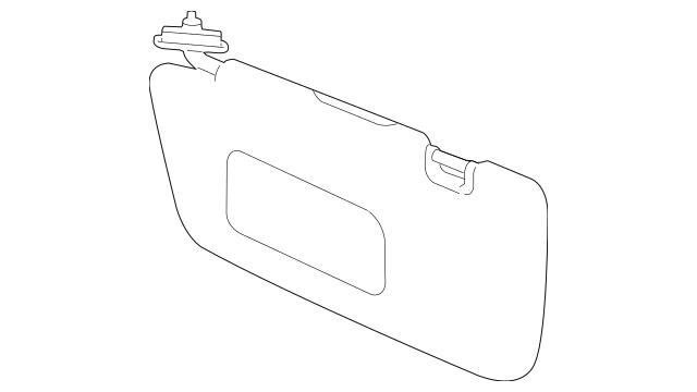 2012-2014 Subaru Sun-Visor [ Drivers Side ] 92011FJ002ME