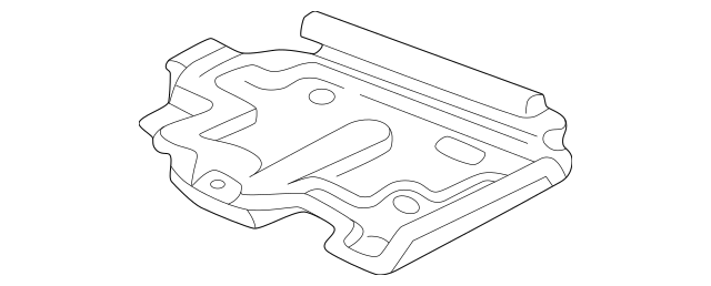 OEM Battery Tray (22619886) for your GM Vehicle : OEM GM