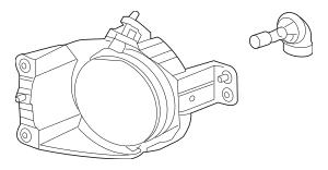 2012-2018 Chevrolet Sonic Fog Lamp Assembly 96830994