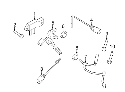 OEM VW DIESEL AFTERTREATMENT SYSTEM for 2009 Volkswagen Jetta