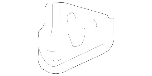 2012-2019 Chevrolet Sonic Upper Tie Bar Center Bracket