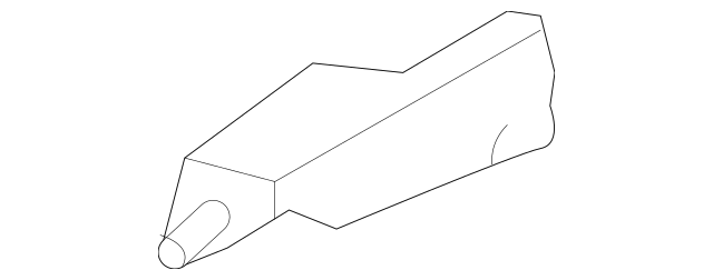 2012-2019 Chevrolet Sonic Upper Tie Bar Side Bracket