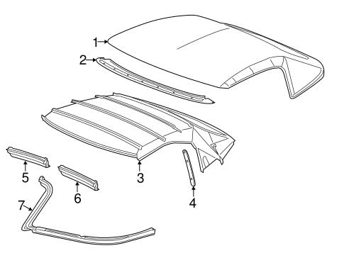 OEM 2016 Chevrolet Corvette Cover & Components Parts