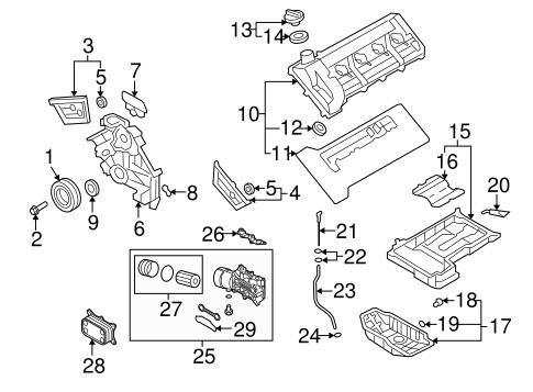 2009 Kia Borrego Engine Diagram