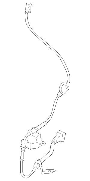 Buy this Genuine 2010-2013 Kia Soul Rear Speed Sensor