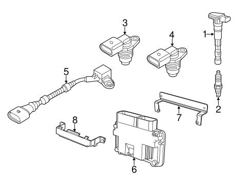 OEM VW Ignition System for 2012 Volkswagen Jetta