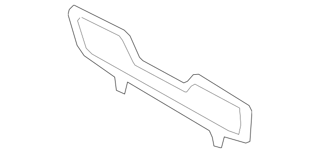 2017-2019 Mazda MX-5 Miata Air Deflector N248-68-3X0A-02