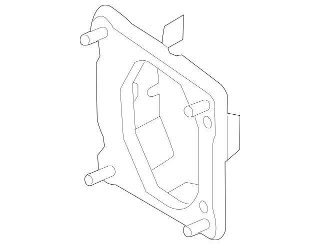 Genuine Bumper Bracket for 2012-2018 Ford Part# CP9Z
