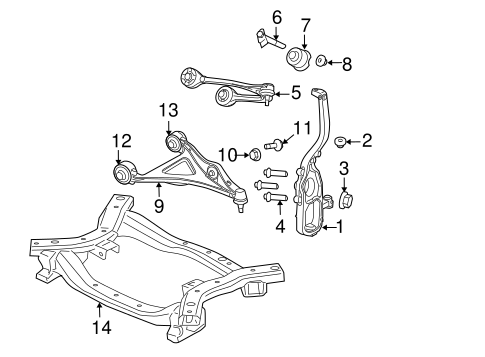 Chrysler 300m Front Suspension Diagram. chrysler 300m oem