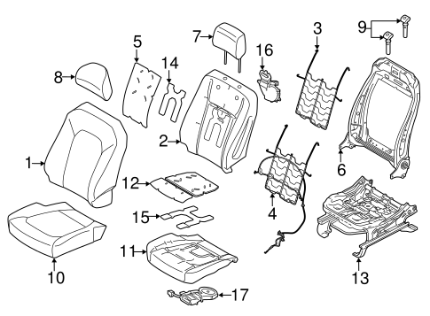 HEATED SEATS for 2015 Ford F-150