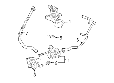 OEM 2007 Chevrolet Cobalt Emission Components Parts