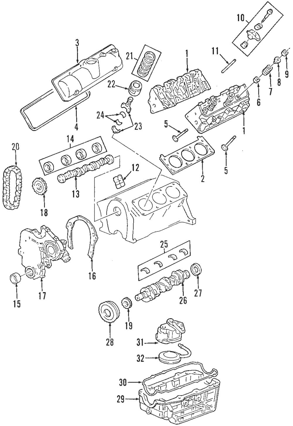 OEM NEW 2005-2007 GM Chevrolet Pontiac Head Gasket Engine