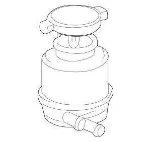 2004-2010 Toyota Sienna Power Steering Pump Reservoir
