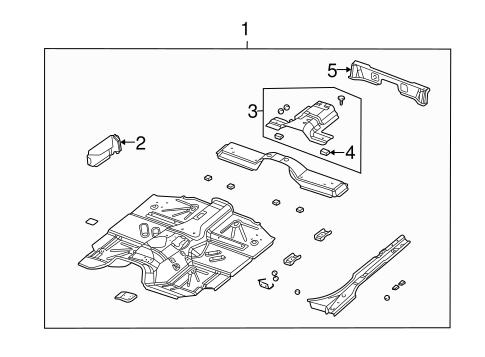 Floor for 2000 Jeep Wrangler