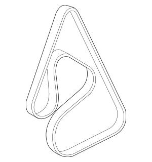 2009-2011 Buick Lucerne Serpentine Belt 12604478