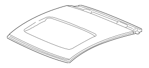 2002-2006 Acura RSX HATCHBACK Panel, Roof (Sunroof) 62100