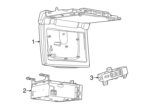 Entertainment System Components for 2014 Jeep Grand