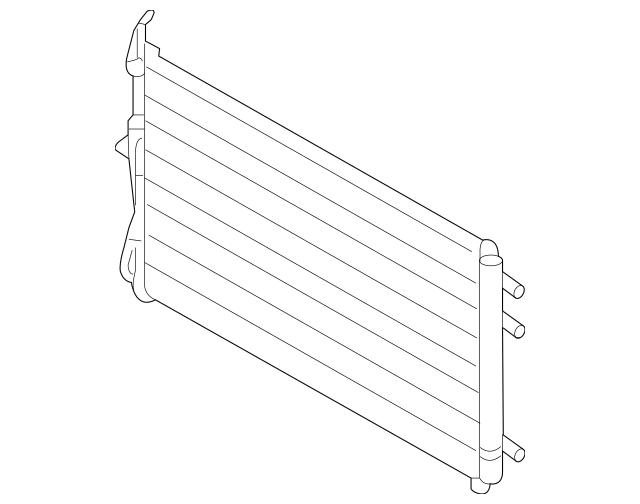 2006-2014 Kia Sedona Condenser Assembly 97606-4D900