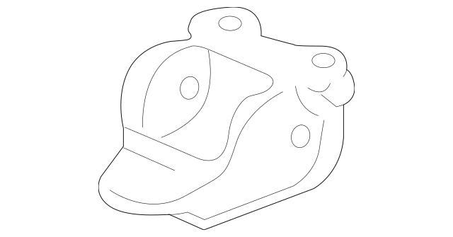 2000-2006 Honda INSIGHT Bracket, L Rear Trailing Arm 52678