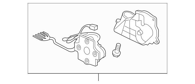 2009-2014 Acura TL SEDAN Bracket, R (R.C.) 76207-TK4-A02