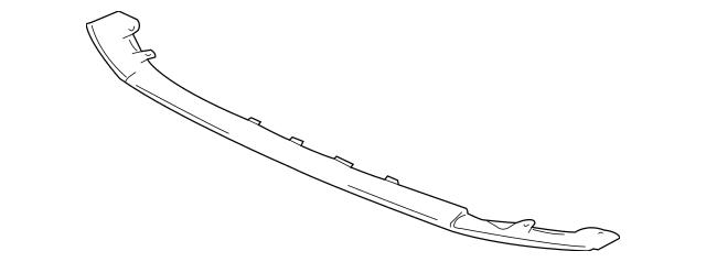 2008-2015 Mitsubishi Lancer Lower Deflector 6512A126