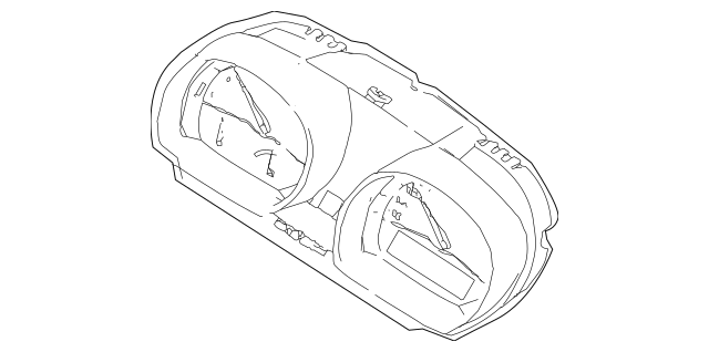 BMW Instrument Cluster (62-10-9-168-173) For Sale