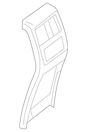 Mercedes-Benz OEM Rear Cover Part# 166-680-70-03-8N84