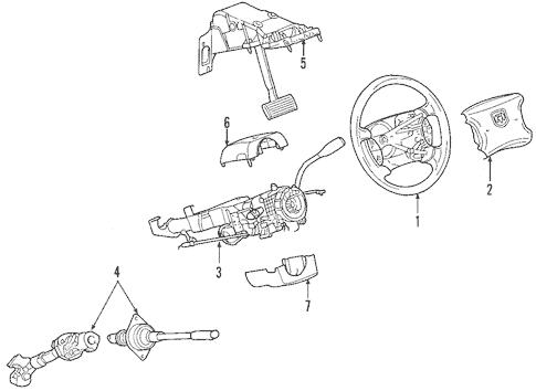 Steering Column for 2006 Mitsubishi Raider DuroCross