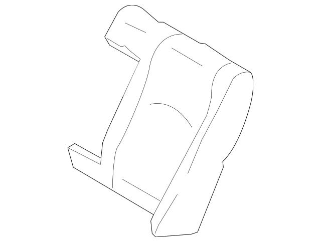Mercedes-Benz OEM Seat Back Cover Part# 211-920-23-47-9D15