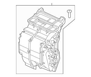 2015-2019 Honda FIT 5-DOOR Heater Sub-Assembly 79106-T5R