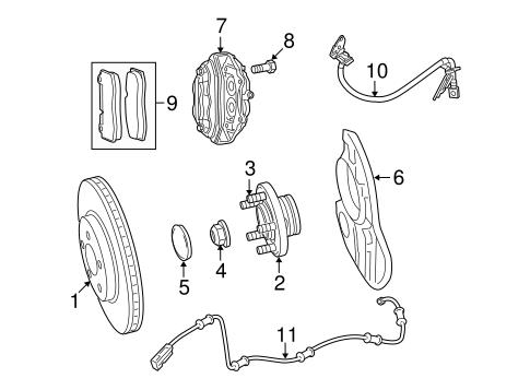 ANTI-LOCK BRAKES for 2010 Dodge Challenger