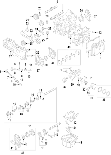 Engine for 2010 Subaru Impreza