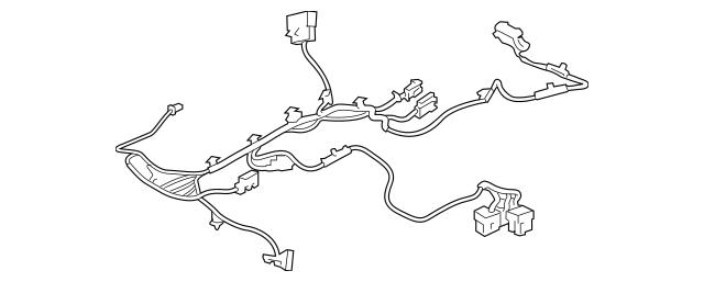 2015-2018 Porsche Macan Wire Harness 95B-971-364-BB